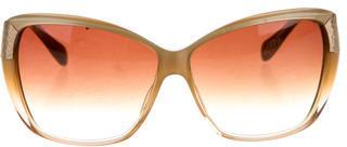 Oliver Spencer Skyla Oversize Sunglasses $65 thestylecure.com