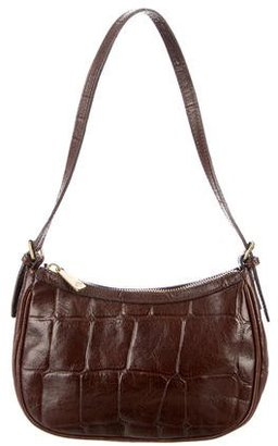 Mulberry Small Embossed Leather Shoulder Bag $145 thestylecure.com