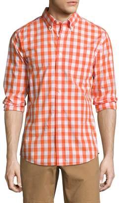 Jack Spade Men's Sheppard Trapunto Large Gingham Sportshirt
