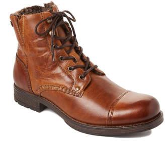 Pajar Canada Cognac Tyler Leather Waterproof Boots