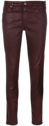AG Jeans coated skinny jeans