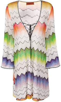 Missoni Mare printed beach cover-up