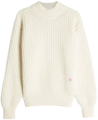 Victoria Beckham Pullover with Elbow Patches