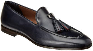 Salvatore Ferragamo Tassel Leather Loafer