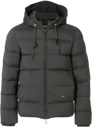 Emporio Armani padded cropped jacket