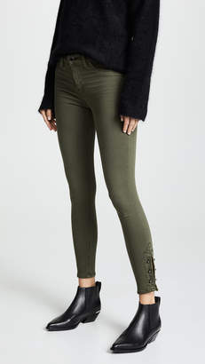 Hudson Nico Mid Rise Crop Super Skinny Jeans