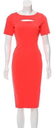Zac Posen Cutout A-Line Dress