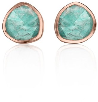 Women's Monica Vinader 'Siren' Semiprecious Stone Stud Earrings $140 thestylecure.com