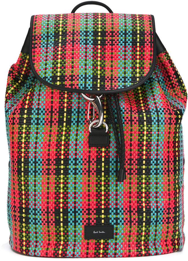 Paul SmithPaul Smith woven backpack