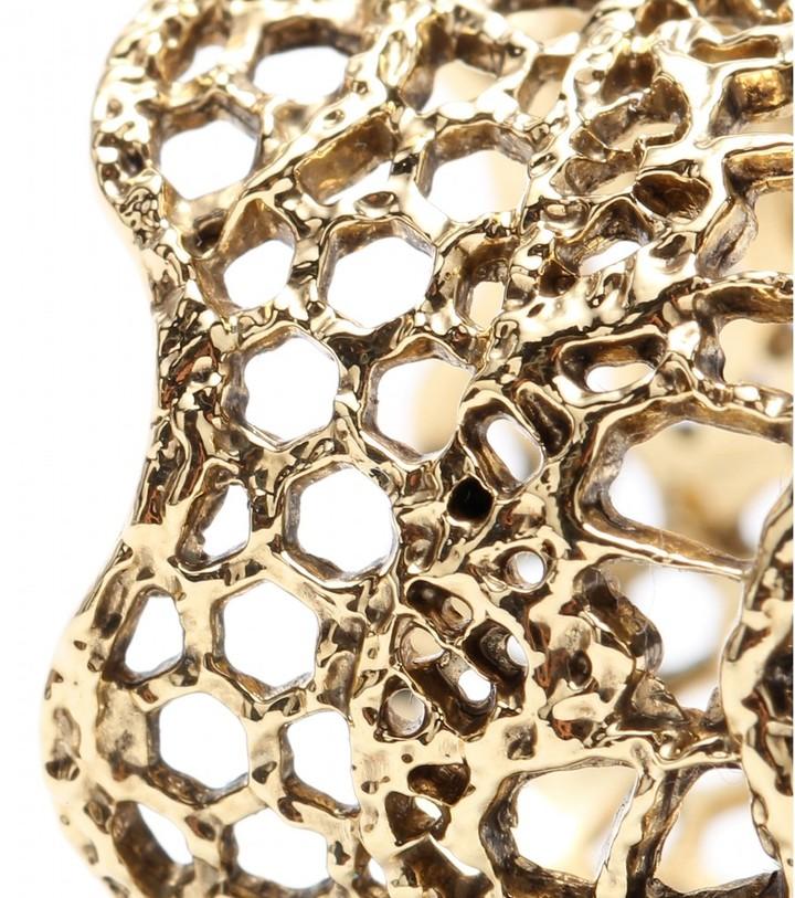 Aurelie Bidermann Vintage Lace gold-plated ring