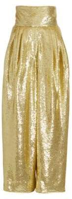 Marc Jacobs Dressy Sequin High-Rise Trousers