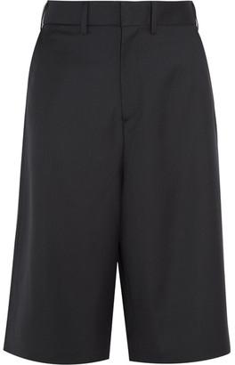 Vetements - Brioni Split-back Wool Shorts - Black $1,685 thestylecure.com