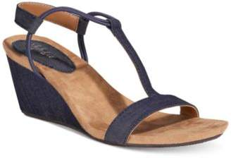 Style&Co. Style & Co Mulan Wedge Sandals, Created For Macy's