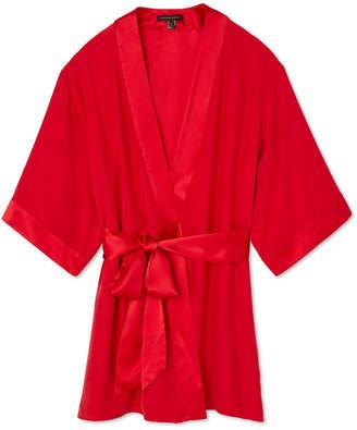 Kiki de Montparnasse Silk Charmeuse Robe