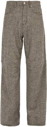 PHIPPS Jean wide-leg wool trousers