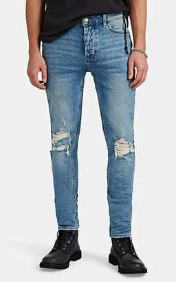 Ksubi Men's Van Winkle Distressed Skinny Jeans - Md. Blue