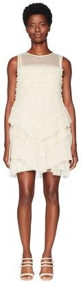 RED Valentino Tulle and Point D'Esprit Women's Dress