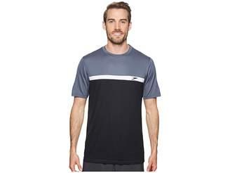 Speedo Color Block Short Sleeve Swim Tee Men's Swimwear
