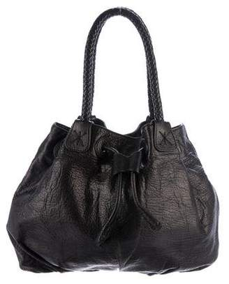 Carlos Falchi Pebbled Leather Hobo