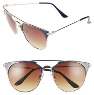 Women's Bp. Retro Sunglasses - Blue $12 thestylecure.com