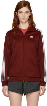 adidas Burgundy BB Track Jacket