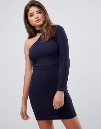 AX Paris one sleeve mini dress