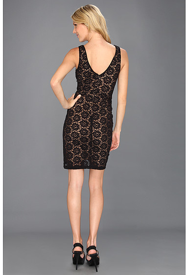Nicole Miller Daisy Lace Fitted Dress