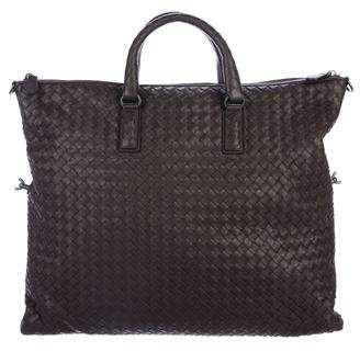 Bottega Veneta Medium Intrecciato Convertible Tote