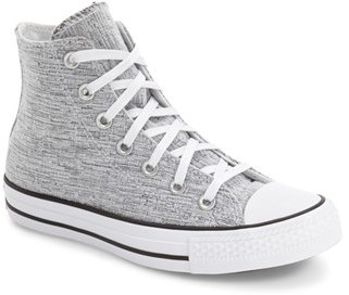 Women's Converse Chuck Taylor All Star Knit High Top Sneaker $64.95 thestylecure.com