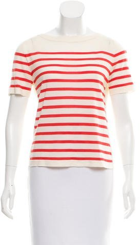 Marc Jacobs Marc Jacobs Wool-Blend Striped Top