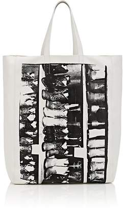 Calvin Klein Women's Graphic Leather Tote Bag
