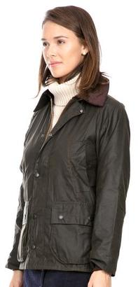 Barbour Barbour® Women's Olive Classic Bedale Wax Jacket $379 thestylecure.com