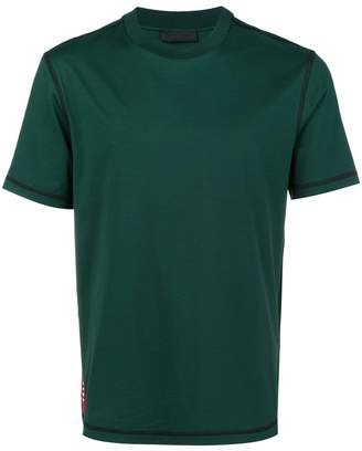 Prada short-sleeve fitted T-shirt