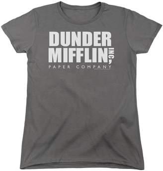 Office The Womens Dunder Mifflin Logo T-Shirt