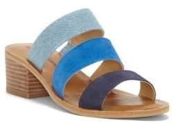 Lucky Brand Rileigh 2 Suede Slide Sandals