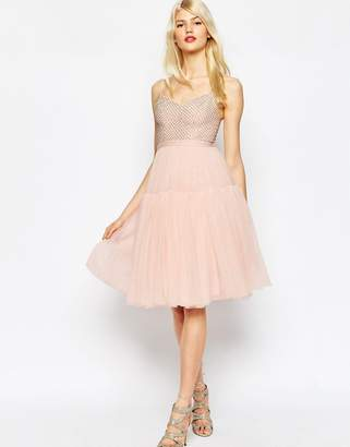 Needle & Thread Voluminous Tulle Embellished Dress $167 thestylecure.com