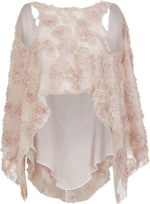 Maticevski Daydream Embroidered Lace Top