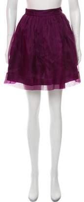 Elizabeth and James Silk Sarafina Mini Skirt w/ Tags