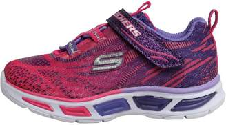 Skechers Infant Girls S Lights Lightbeams Trainers Hot Pink/Purple