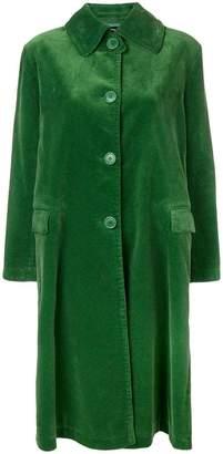Aspesi single-breasted corduroy coat