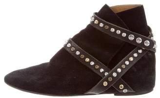Etoile Isabel Marant Ruben Studded Ankle Boots