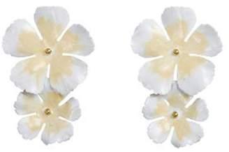 Jennifer Behr Faye Large Flower Earrings