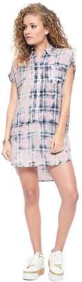 Juicy Couture Indigo Plaid Dress
