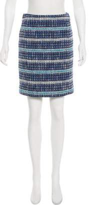 Tory Burch Tweed Knee-Length Skirt