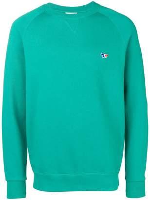 MAISON KITSUNÉ Fox Head Patch sweatshirt