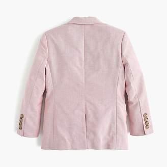 J.Crew Boys' Ludlow suit jacket in stretch oxford cloth
