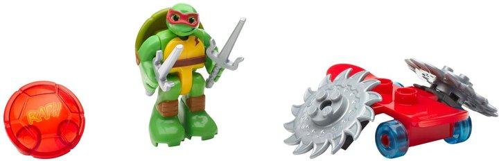 Mega Bloks Teenage Mutant Ninja Turtles Half-Shell Heroes Raph with Skateboard Action Figure