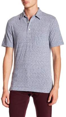 Faherty BRAND Striped Pocket Polo Shirt