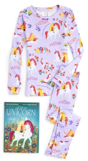 Style Name Books To Bed Dragons Love Tacos Fitted Two-Piece Pajamas   Book  Set (Toddler cece09605