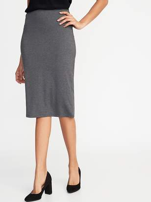 3af60a1d8 Old Navy Jersey-Knit Midi Pencil Skirt for Women